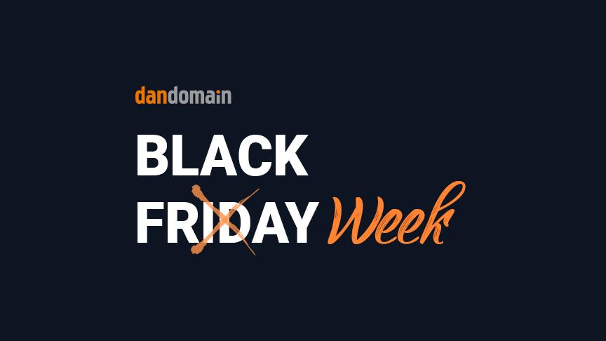Fra Black Friday til Black Week
